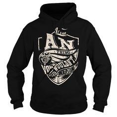 Its an AN Thing (Dragon) - Last Name, Surname T-Shirt