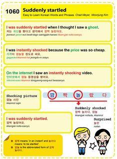 Learn Korean: Suddenly Startled