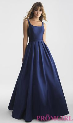 Long Open-Back Prom Dress with a Bow