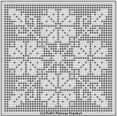 Free Pattern Flower Square in Filet Designs for Crochet Royal Society Book 36 1934 http://web.archive.org/web/20071231193623/http:/www.angelfire.com/folk/celtwich/