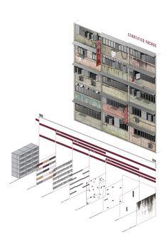 Luke Askwith - Individual/Integral - University of Nottingham Timeline Architecture, Shadow Architecture, Architecture Panel, Architecture Graphics, Architecture Visualization, Architecture Design, Architecture Drawings, Data Visualization, Layered Architecture