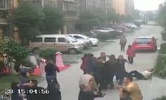 Caught on CCTV: Gangsters Gatecrash WEDDING, Thugs Beat Up Family and Guests in China