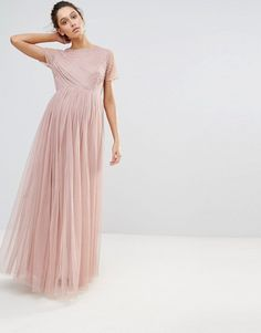 5d230767d1d9 Maya Maternity Embellished Bodice Maxi Dress With Tulle Skirt at asos.com