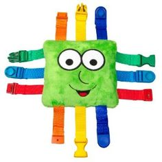 """My kids love to buckle and unbuckle.  I wonder if I could make something like this.  Amazon.com: Buckle Toy """"Buster"""": Toys & Games"""