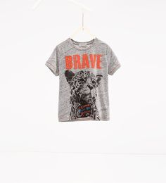 Leopard T-shirt-View all-T-SHIRTS-BOY | 4-14 years-KIDS | ZARA United States