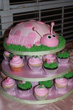 Ladybug cake/cupcakes