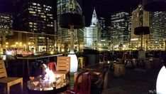 Top Chicago Rooftops - Where to find panoramic views of downtown for free - My Ticklefeet Rooftop Chicago, Chicago River, Rooftop Bar, Chicago Vacation, Buckingham Fountain, Chicago Skyline, London House, Rooftops, Birds Eye View