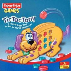 """Tic Tac Tony--great for a reinforcing activity.  Kids LOVE to """"feed"""" Tony.  #speechtherapy, #preschoolgames"""