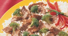 Stir-Fried Beef and Broccoli: A dinner idea that's ready in less than 30 minutes! Serve this stir-fry over rice or Asian noodles.