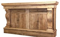 Gorgeous architectural sideboard - those corbels!