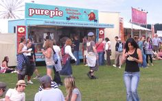 You might have seen one of these food outlets if you are a Festival Goer!