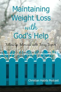 Do you ever wonder if you'll ever be able to lose weight AND keep it off? In this interview on the Christian Habits Podcast, we'll talk to one woman who did that!