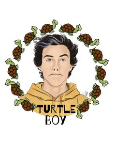 Turtles live and adventure and have a hard shell that you gotta crack to get to the inside. I think that's honestly why Ethan likes to be called that.❤️❤️❤️