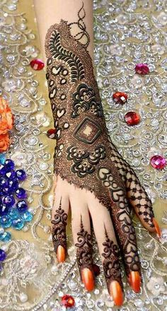 Kashee's Mehndi Designs, Heena Design, Wedding Mehndi Designs, Mehndi Design Images, Latest Mehndi Designs, Kashees Mehndi, Mhendi Design, Beautiful Mehndi, Temporary Tattoos