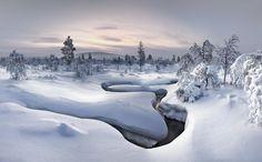 Lapland - Kiilopää - The wonderful region Kiilopää with minus 36 degrees, Photography by Christian Schweiger