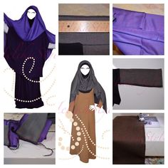 "Hijabcover ""Helika"" Sewing tutorial and sewing pattern"