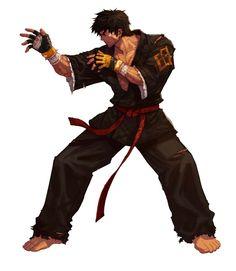 Male Fighter - Grappler Portrait