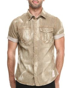 Love this Five Points Denim S/S Button-down by AKOO on DrJays. Take a look and get 20% off your next order!