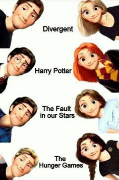 this is so realistic it hurts <<< the harry potter one could refer to both Ginny and Harry or also to James and Lily!!!