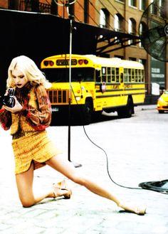 Jessica Stam by Ellen Von Unwerth for Vogue China