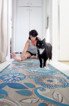 DIY Painted Floor Projects • Ideas & Tutorials!