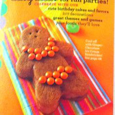 Gingerbread girl in bikini!