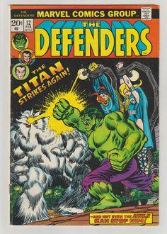 Defenders Vol 1 12 Bronze Age Comic Book. FN. by RubbersuitStudios #defenders #valkyrie #comicsforsale