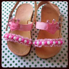 Just for The Fun of It! by Renee Stewart on Etsy Renee Stewart, Girls Shoes, Baby Shoes, Kids Sandals, Toddler Shoes, Handmade Leather, Huaraches, Cute Girls, Baby Kids