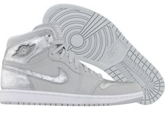 Air Jordan 1 Retro High Silver Edition