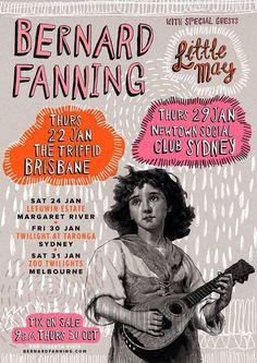 Bernard Fanning - The Triffid, Brisbane. 22 January 2015.