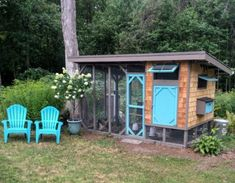 40 Best Chicken Coop Design – Awesome Backyard Poultry Made Easy #DIYchickencoopplans #ChickenCoopPlans