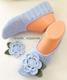 Crochet Shoes Pattern, Shoe Pattern, Crochet Patterns, Knitted Slippers, Slipper Socks, Diamond Shoes, Bed Socks, Diy Crafts Crochet, Socks And Sandals