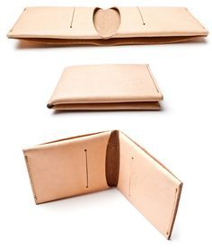 MINIMALIST WALLET (NATURAL LEATHER) | Ugmonk