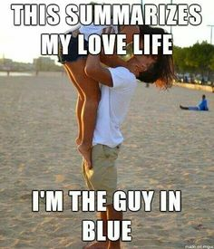 I'm in the blue