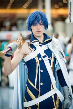I've been holding this and more photos since some time, because some months ago we had a really professional and fun photoshoot day with Kyman Cheng with an awesome Fire Emblem Awakening group!