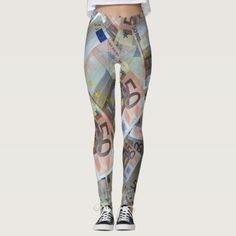 Euro leggings - yoga health design namaste mind body spirit