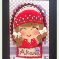 Camafeo personalizado para Akane.