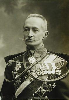 23. Портрет генерала от кавалерии А.А.Брусилова - командующего 8-й армией Юго-Западного фронта