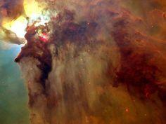 Lagoon nebula - The Lagoon Nebula (catalogued as Messier 8 or M8, and as NGC 6523) is a giant interstellar cloud in the constellation Sagittarius. It is classified as an emission nebula and as an H II region.    The Lagoon Nebula was discovered by Guillaume Le Gentil in 1747 and is one of only two star-forming nebulae faintly visible to the naked eye from mid-northern latitudes.
