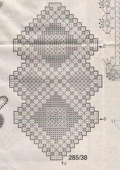 Ganchillo hecho a mano Natural corredor de la tabla: Tríada