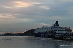 København Cruise, Wednesday, 17th December 2014, in Oslo, Norway.