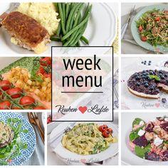 Mocht je vandaag of aankomend weekend alvast je boodschappenbriefje maken Meal Prep, Food And Drink, Dinner, Om, Budget, Suppers, Thrifting, Meal Planning