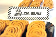 What awesome Leia Buns at this Star Wars Birthday Party! See more party ideas and share yours at CatchMyParty.com