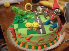 torta plants vs zombies