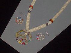 http://www.etsy.com/listing/95694973/set-custom-fit-hemp-peace-sign-necklace