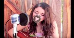 """Juliana Chahayed sings an Elvis Presley's classic and her beautiful voice fits perfectly. Young talent pours from her version of this timeless song, """"Can't Help.."""