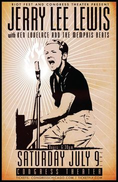 """Jerry Lee Lewis is an American rock and roll music singer-songwriter and pianist. He is often viewed as """"rock & roll's first great wild man"""". """"Great Balls of Fire"""" is a 1957 song recorded by Jerry Lee Lewis and featured in the 1957 movie Jamboree. This song is one of the best-selling singles in the United States as well as one of the world's best-selling singles of all time."""