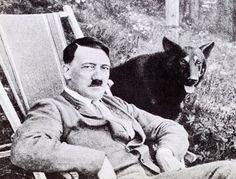Hitler e seu cachorro
