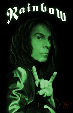 ronnie james dio Singer of God Metal ^ _ ^ Heavy Metal Music, Heavy Metal Bands, Ritchie Blackmore's Rainbow, Groove Metal, James Dio, Rock Band Posters, Greatest Rock Bands, Rock Groups, Band Photos