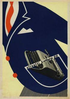 Lettera 22 Poster, Designed by  Marcello Nizzoli, 1951